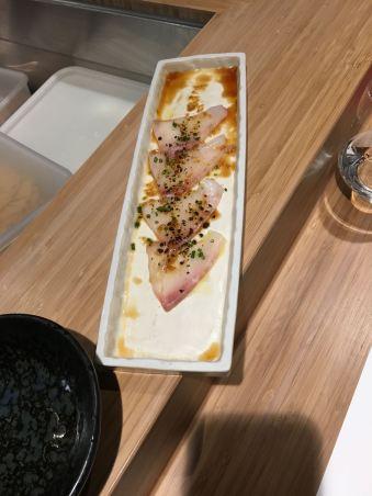 Sashimi starter